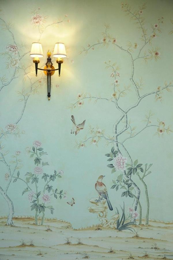 Papel pintado a mano chinoiserie nosy parker - Papel pintado a mano ...