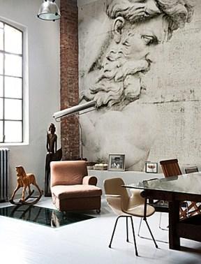 Wall Deco Contemporary Wallpaper Nosy Parker