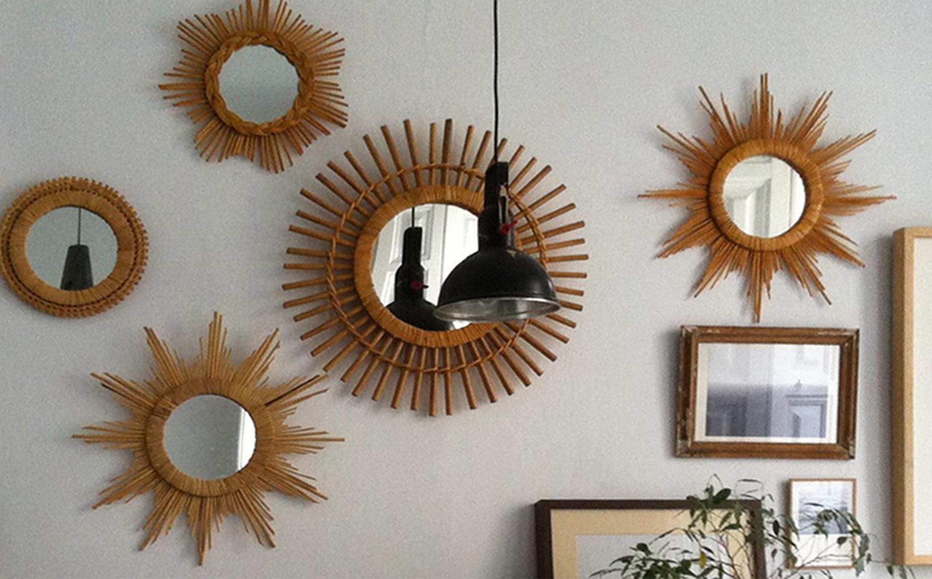 compartir sus diseos y con su maravillosa produccin de espejos sol de bamb que estn teniendo muy buena aceptacin