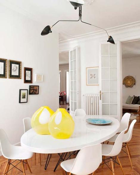 Serge-Mouille-Arroyo-Arquitectos-dining-room-Eames-Nuevo-Estilo