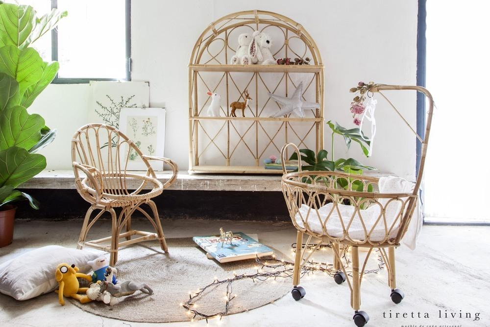 TIRETTA, mueble de caña artesanal | Nosy Parker